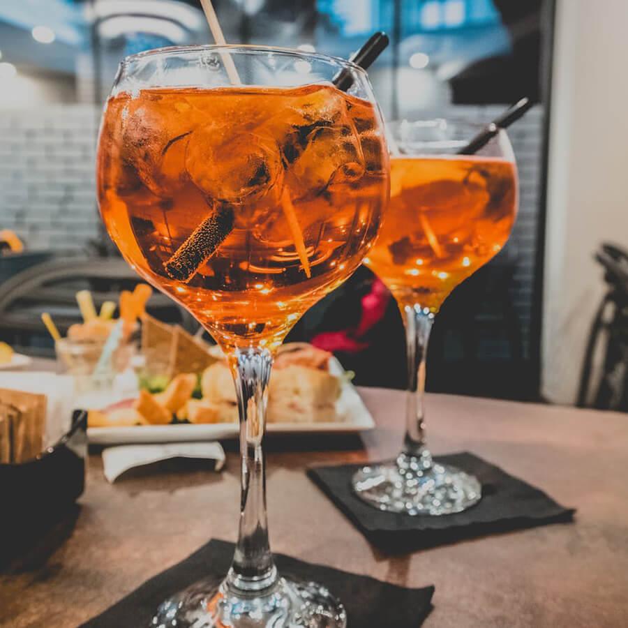 The Peddler Menu - Drinks